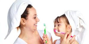 Igiene orale dei bambini